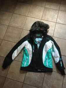 Diva snowgear warm winter jacket size lg