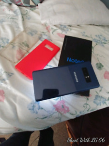 Galaxy Note 8 for sale no shipping or PayPal