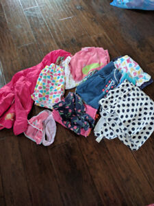 Girl clothes spring-summer size 5
