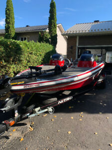 2014 Nitro Z-7 Bass Boat