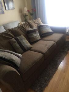 Oversized comfy sofa, great shape $100 OBO