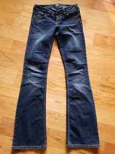 Silver jeans size 26 33L Belleville Belleville Area image 3