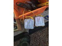 110v. Task lights.