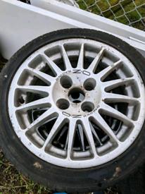 "15"" OZ Racing alloy wheels 4x108"