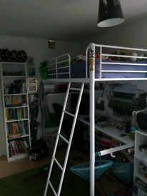Argos bunk bed with desk and mattress