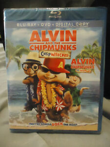 ALVIN AND THE CHIPMUNKS CHIPWRECKED BLURAY/DVD BRAND NEW