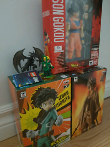 Anime figures and more