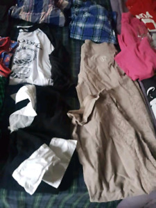Reduced  garbage bag full girls clothes sz 14/16