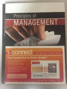 Principles of Management Textbook McGraw Hill