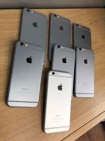 IPhone 6 Black 16Gb unlocked like brandnew