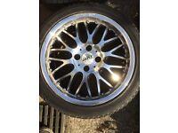 Dotz Mugello 16x7 4x100 alloy wheels split rim replica dish Honda vw Vauxhall Nissan Mazda drift