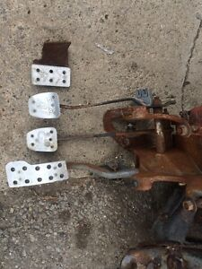 79-93 mustang clutch pedal assembly