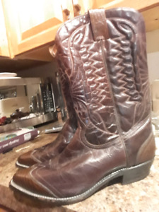 Double H Genuine leather cowboy boots