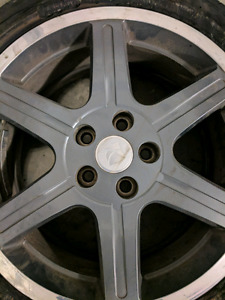 17 inch saturn ion redline wheels