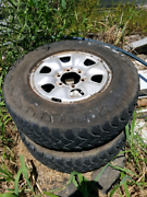 Toyota hilux tyres and rims Mullumbimby Byron Area Preview