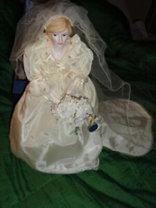 Princess Diana Bride Doll by Royal Doulton