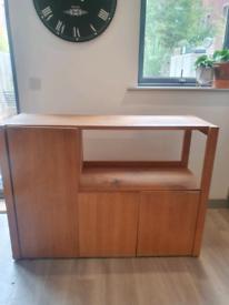 HABITAT vintage solid wood sideboard. £50 ONO
