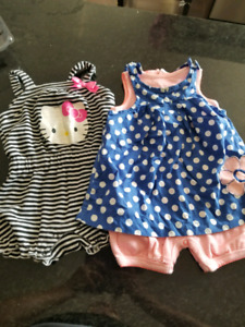9 month rompers