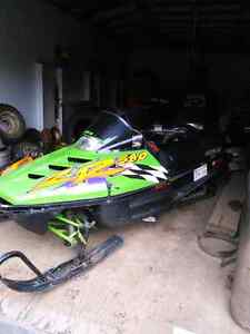 1995 arctic cat 580 with a 700 double