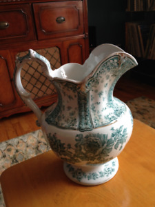 Beautiful Antique Pitcher/Vase (Dudson & Wilcox)