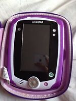 Leappad with 4 games and case
