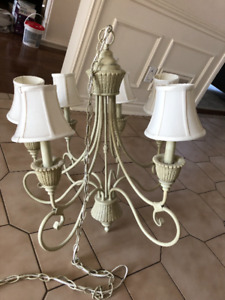 Traditional Ivory chandelier for Sale - Kitchen & Dining Room
