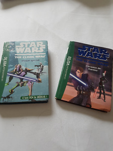 STARWARS BOOKS in french