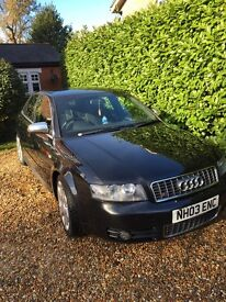 Audi S4 low miles black not a4 BMW or Mercedes