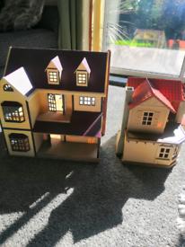 Sylvanian families house set