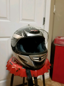 CAN size L Bluetooth motorcycle helmet