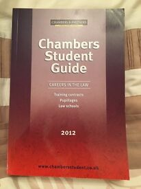 Law book. Chambers student guide