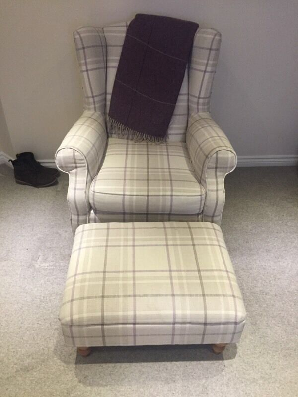 Armchair From Next Sherlock Chair With Storage Footstool