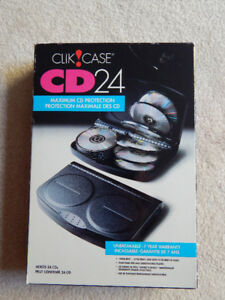 CLIK CASE CD/DVD 24