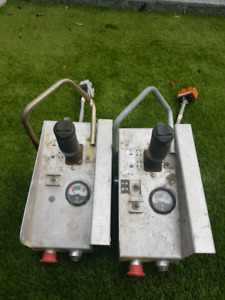 2 skyjack control boxes mint  condition