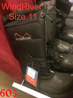 1 Pair of  Winter Boots 2 Pairs of Steal-Toe Boots