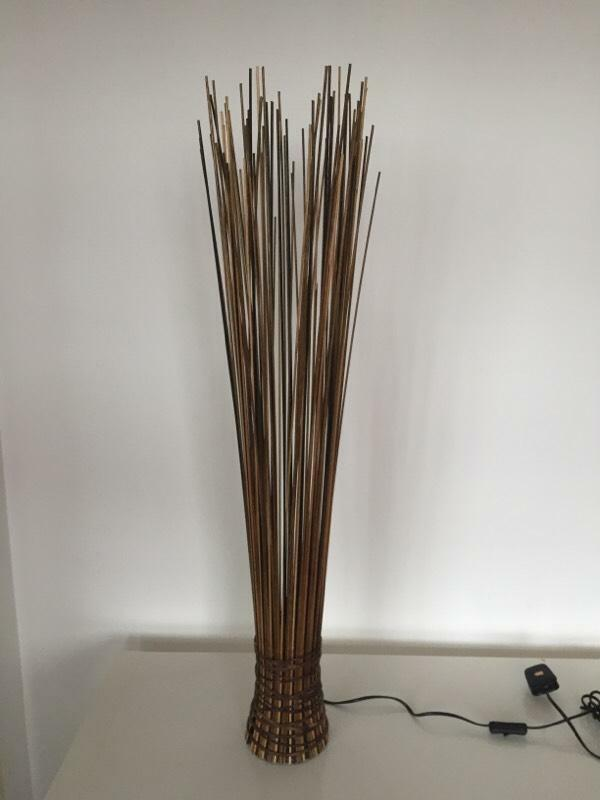 Next twigs floor lamp in aberdeen gumtree for Industrial floor lamp gum tree