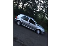 Volkswagen Golf 1.4 Petrol 5dr, 01 year MOT, Service History with 9 Stamps everything in order!