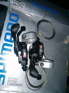 Shimano shifters and quick release