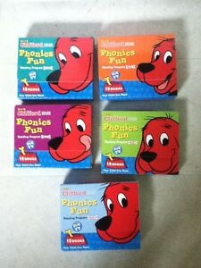 Clifford Phonics Book Sets 1-5
