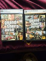 Grand theft auto both for PC