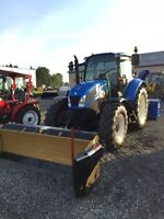 Tracteur New Holland T5.95 2013 et New Holland T6020
