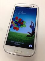 UNLOCKED Samsung S3, white colour, no contract *BUY SECURE*