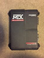 Mtx tc2002 two channel amp 200w rms