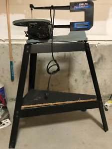 """DELTA SCROLL SAW 16"""" for sale"""