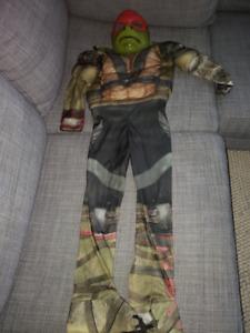 Costume d'Halloween Tortue Ninja 3-4 T Raphael