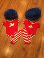 Thing 1 Thing 2 Costumes - size 9 months