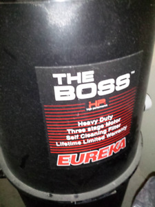 The Boss Heavy Duty 3 Stage Central Vacuum System, Garage Vacuum