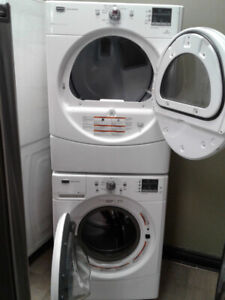 "27"" MAYTAG FRONTLOAD WASHER/DRYER SET"