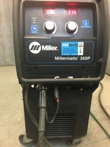 soudeuse Miller Millermatic 350p 600v