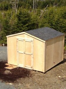 Garden sheds / baby barns built on site in 1 day! 1300 8x8
